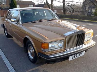 Lot 4 - 1982 Rolls-Royce Silver Spirit