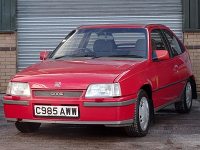Lot 60 - 1985 Vauxhall Astra 1.8 GTE