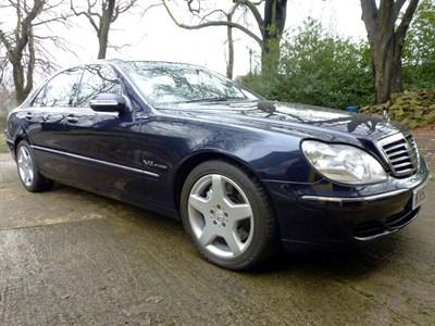 Lot 56-2002 Mercedes-Benz S 600 Limousine