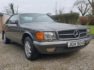 Lot 12-1982 Mercedes-Benz 500 SEC