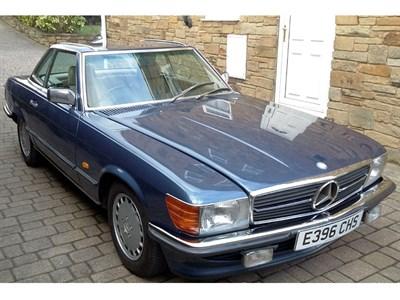 Lot 58-1987 Mercedes-Benz 300 SL