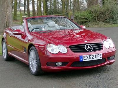 Lot 13-2002 Mercedes-Benz SL55 AMG Kompressor