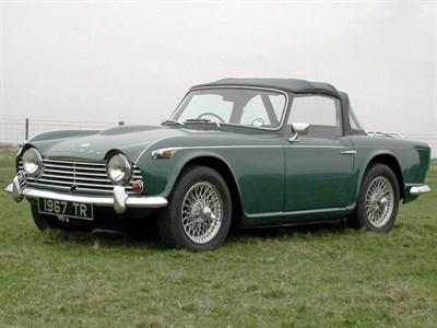 Lot 79-1966 Triumph TR4A IRS