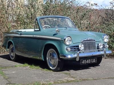 Lot 15-1959 Sunbeam Rapier Series II Convertible