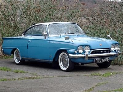 Lot 48-1963 Ford Consul Capri GT