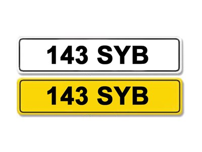 Lot 2 - Registration Number 143 SYB