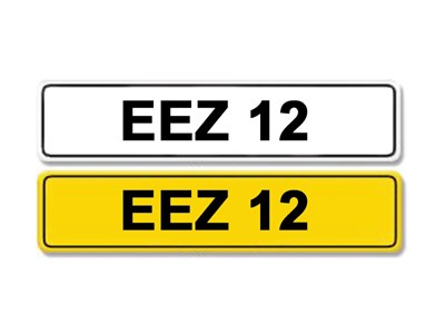 Lot 1 - Registration Number EEZ 12