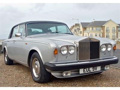Lot 26-1980 Rolls-Royce Silver Shadow II