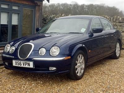 Lot 16-2000 Jaguar S-Type 4.0 Litre