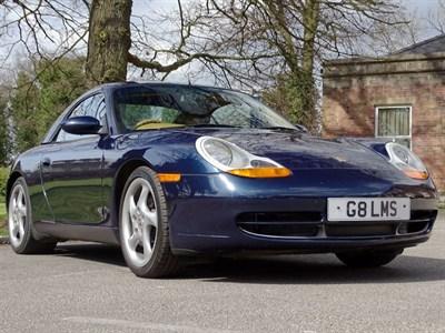 Lot 84-1998 Porsche 911 Carrera Cabriolet