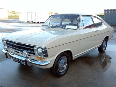 Lot 51-1968 Opel Olympia A Coupe