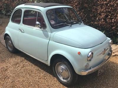 Lot 3-1969 Fiat 500 F