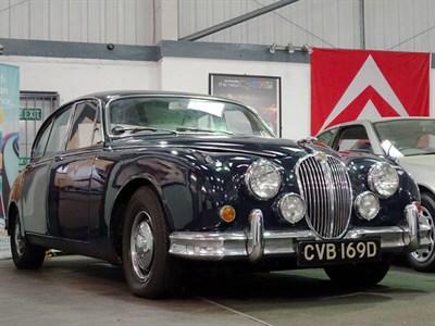 Lot 73-1966 Jaguar MK II 3.4 Litre