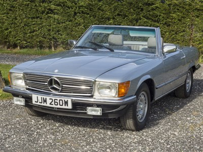 Lot 20 - 1982 Mercedes-Benz 280 SL