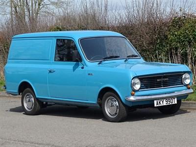 Lot 20-1979 Bedford HA 110 Van