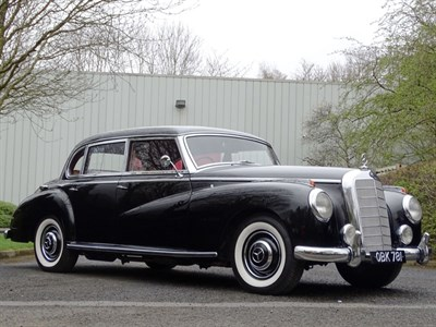 Lot 54-1953 Mercedes-Benz 300 C 'Adenauer' Saloon