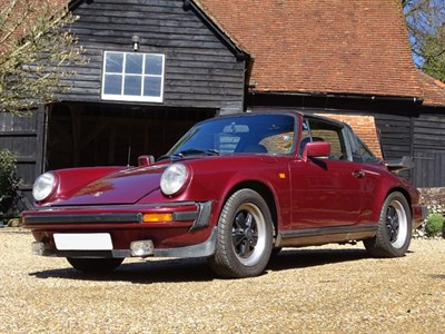 Lot 9-1983 Porsche 911 SC Targa