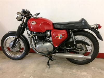 Lot 10-1967 BSA A65 Spitfire MKIII