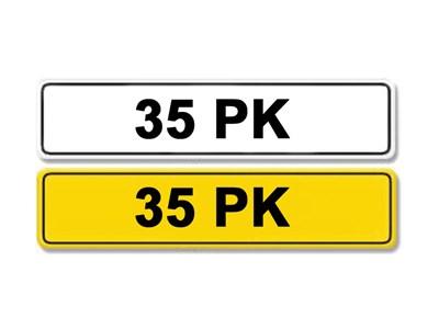 Lot 4-Registration Number 35 PK
