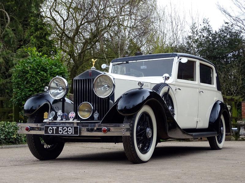 Lot 36-1931 Rolls-Royce 20/25 Park Ward Saloon