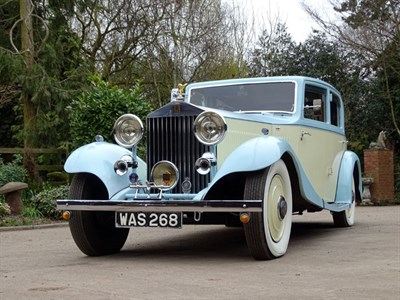 Lot 73-1933 Rolls-Royce 20/25 Thrupp & Maberly Saloon