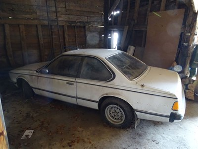 Lot 7-1981 BMW 628 CSi