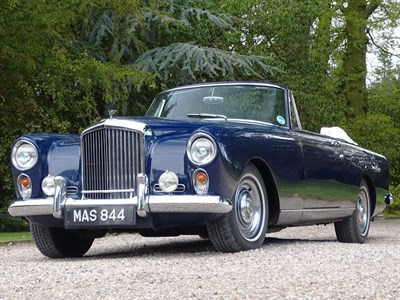Lot 50-1960 Bentley S2 Continental Drophead Coupe