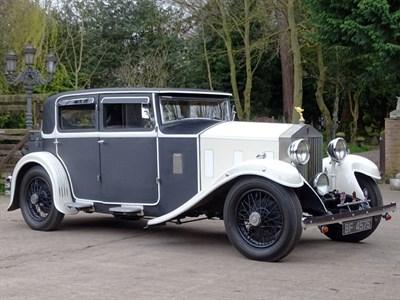 Lot 102-1930 Rolls-Royce 20/25 Weymann Saloon
