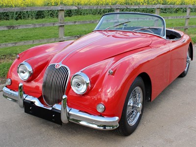 Lot 47-1958 Jaguar XK150 SE 3.4 Litre Roadster