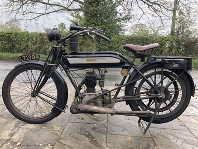 Lot 49 - 1912 Humber 3 1/2hp