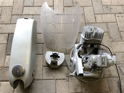 Lot 50 - Suzuki TR50 Spares