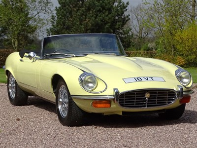 Lot 39-1974 Jaguar E-Type V12 Roadster