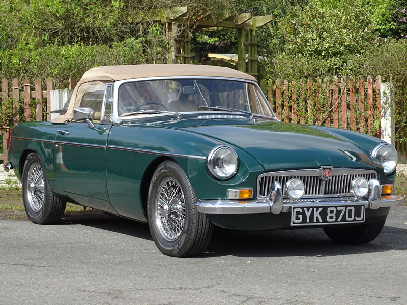 Lot 29-1971 MG B Roadster