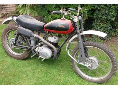 Lot 53 - 1963 Cotton 200cc Trials