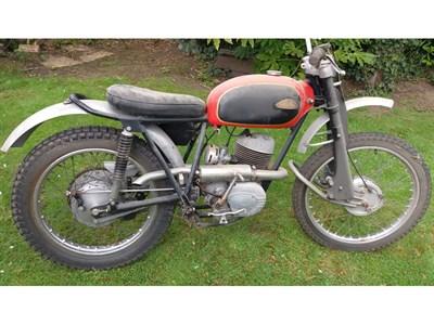 Lot 54 - 1963 Cotton 200cc Trials