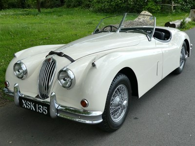 Lot 17-1955 Jaguar XK140 Roadster