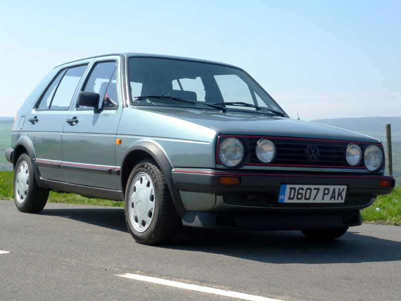 Lot 10-1987 Volkswagen Golf GTi