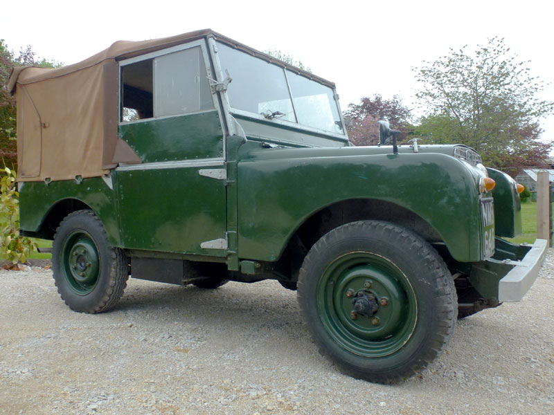 Lot 16-1951 Land Rover 80