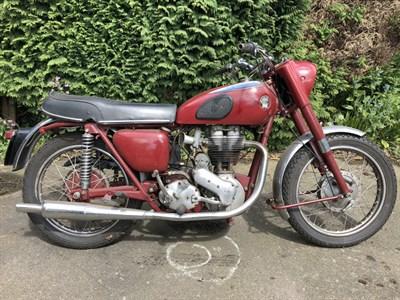 Lot 28 - 1956 Ariel Red Hunter NH