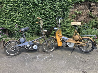 Lot 32-1967 Raleigh Wisps