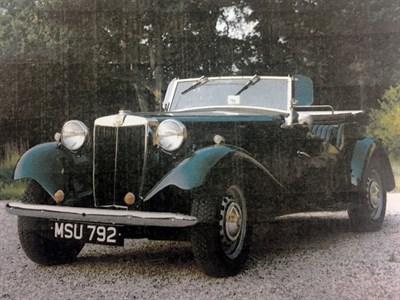 Lot 6-1952 MG TD