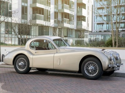 Lot 29-1952 Jaguar XK120 Fixed Head Coupe