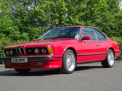 Lot 27-1990 BMW 635 CSi 'Highline'