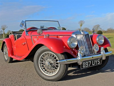 Lot 12-1955 MG TF 1500