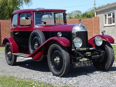Lot 48-1925 MG 14/28 Super Sports Salonette