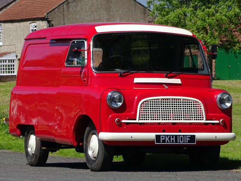 Lot 17-1968 Bedford CA Van