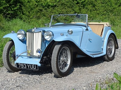 Lot 22-1948 MG TC
