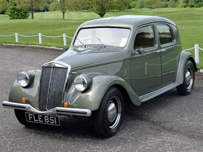Lot 44-1939 Lancia Aprilia Saloon