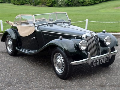 Lot 45-1953 MG TF 1250