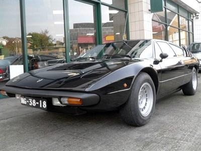 Lot 43-1976 Lamborghini Urraco P300